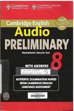 Cambridge Preliminary English Test Pet 8 Audio