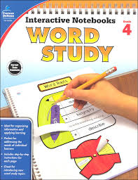 Interactive Notebooks Word Study Grade 4
