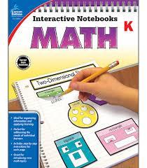 Interactive Notebooks Math Grade K
