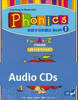Learning to Read with Phonics 1 From A to Z Workbook Audio CD