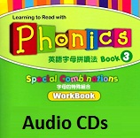 Learning to Read with Phonics 3 Special Combinations Workbook Audio CDs