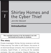 Oxford Bookworms 1 Shirley Homes and the Cyber Thief Extra