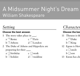 Oxford Bookworms 3 A Midsummer Nights Dream Extra
