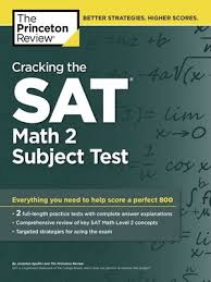 The Princeton Review 2014 - Cracking the SAT Math 2 Subject Test