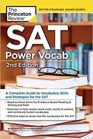 The Princeton Review SAT Power Vocab 2nd Edition