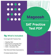 Magoosh SAT Practice Test