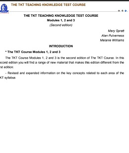 The TKT Course Modules 1-2-3 Second Edition Version 2
