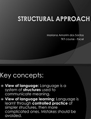 TKT Course - Structural Approach