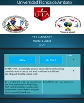 TKT Glossary 9A