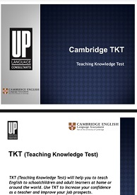 Cambridge TKT - Up Language Consultants
