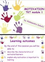 Motivation TKT Module 1