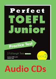 Perfect TOEFL Junior Practice Test Book 2 Audio CDs