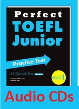Perfect TOEFL Junior Practice Test Book 1 Audio CDs