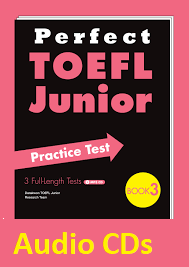 Perfect TOEFL Junior Practice Test Book 3 Audio CDs