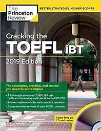 Cracking the TOEFL iBT 2019 Edition Ebook