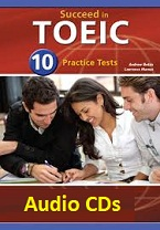 Succeed in TOEIC 10 Practice Tests (Audio)