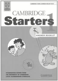 Cambridge YLE Test Starters 1 Answer Booklet Second Edition