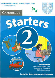 Cambridge YLE Test Starters 2 Student Book Second Edition