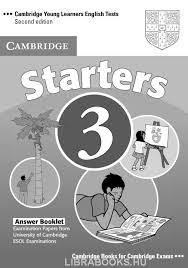Cambridge YLE Test Starters 3 Answer Booklet Second Edition