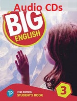 Big English 3 Class Audio CDs 2nd Edition American English